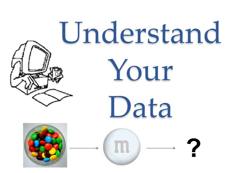 Understand Your Data ?