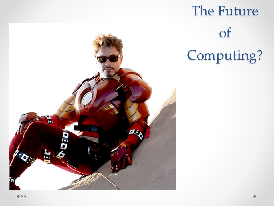 The Future of Computing 35