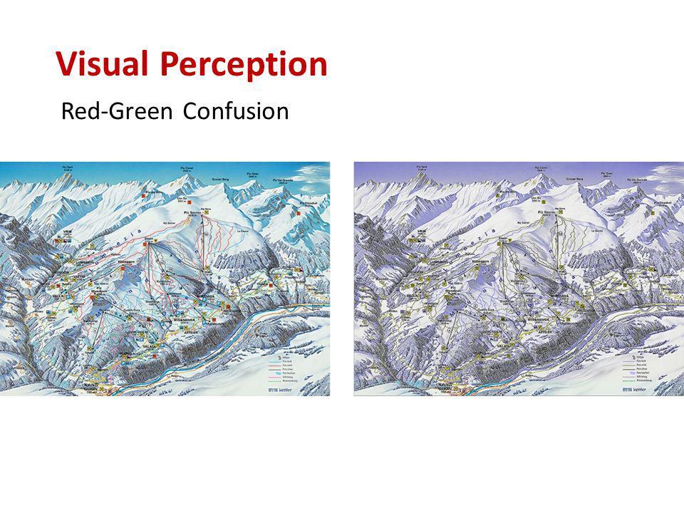 Red-Green Confusion Visual Perception