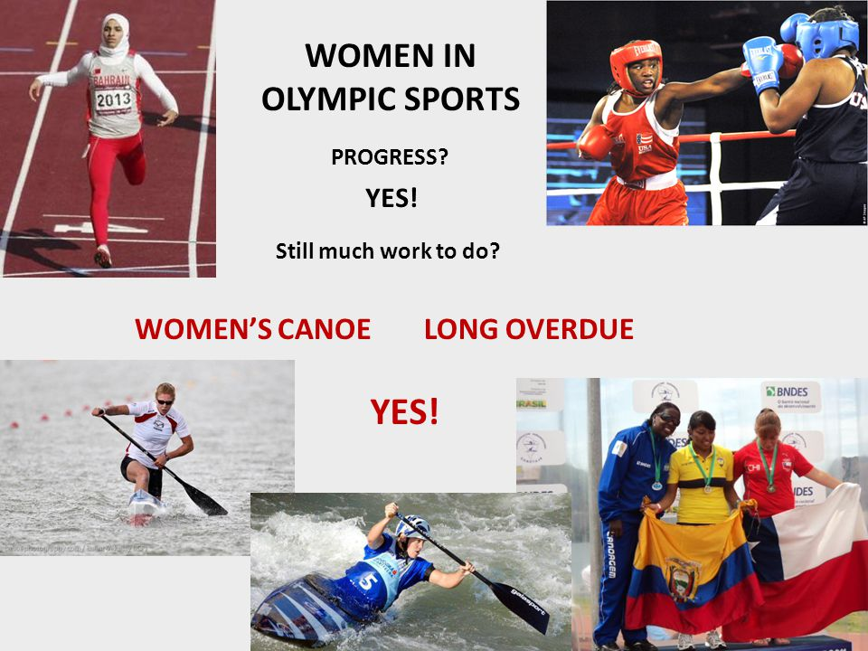 Olympic Charter and International Canoe Federation (ICF) Statutes Olympic Charter: The practice of sport is a human right.
