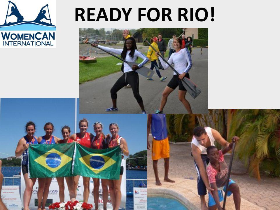 READY FOR RIO!