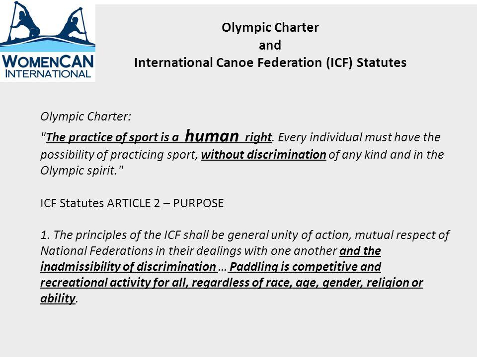 SPRINT – 12 TOTALSLALOM – 4 TOTAL MENS KAYAK 5 WOMENS KAYAK 4 MENS KAYAK 1 WOMENS KAYAK 1 MENS CANOE 3 WOMENS CANOE 0 MENS CANOE 2 WOMENS CANOE 0 Sport = Canoe/Kayak 2 Disciplines w/sub-disciplines 16 TOTAL EVENTS
