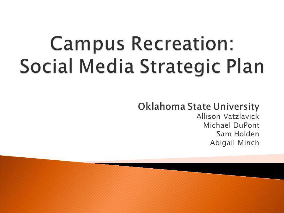 Oklahoma State University Allison Vatzlavick Michael DuPont Sam Holden Abigail Minch