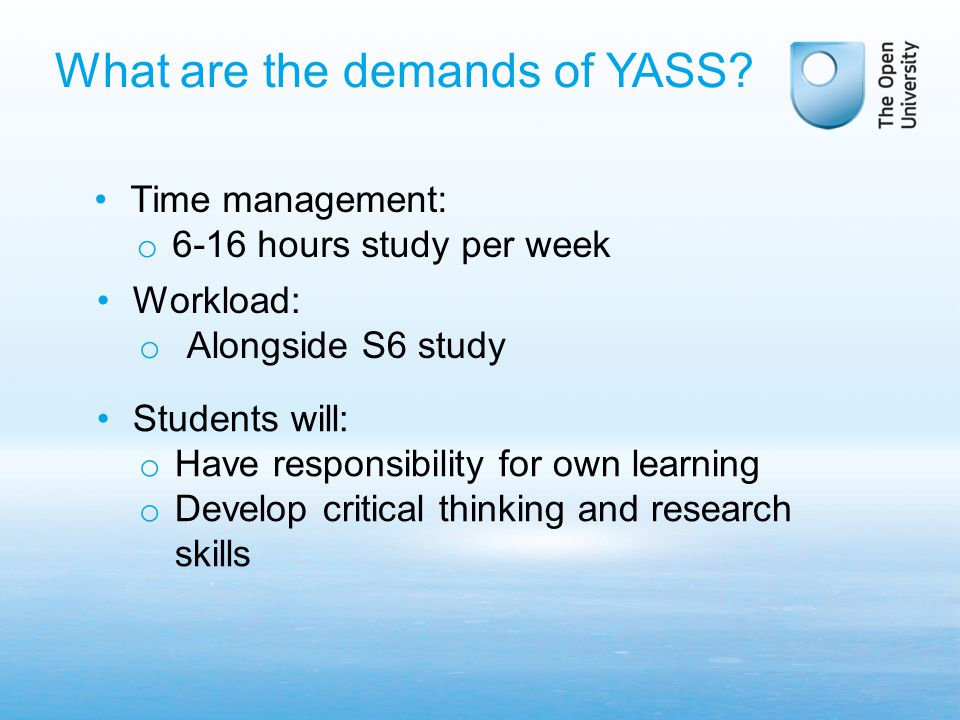 What are the demands of YASS.