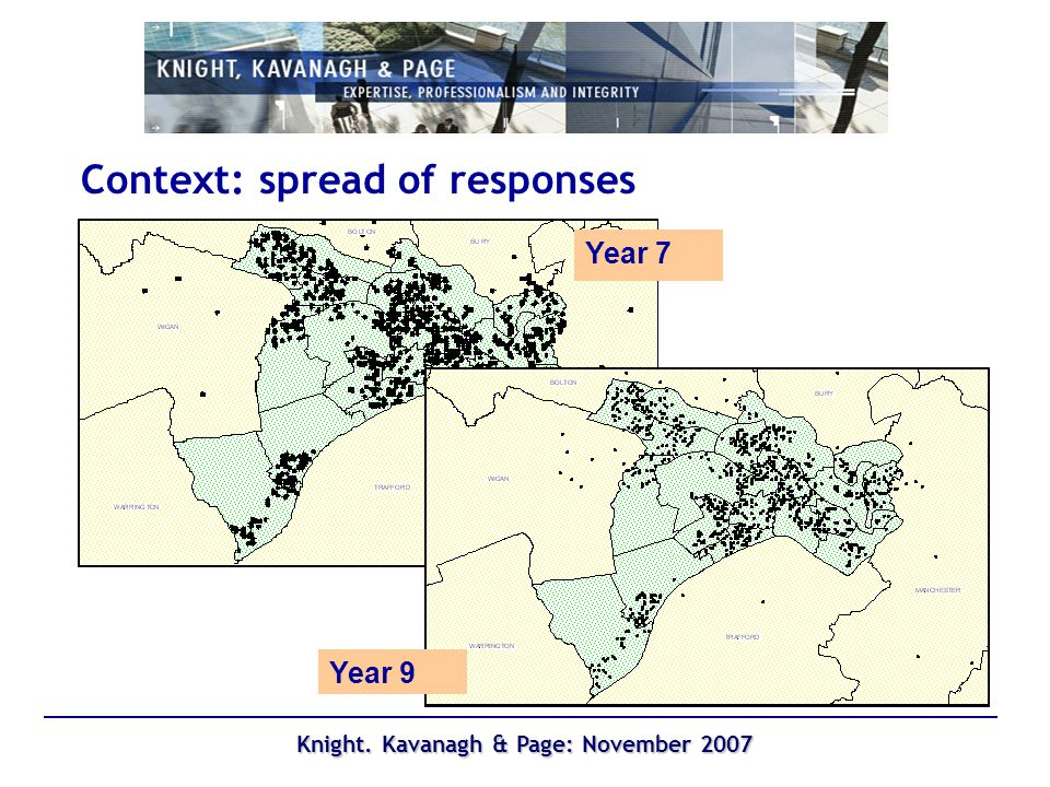 Knight. Kavanagh & Page: November 2007 Frequency of participation (5+ days per week)