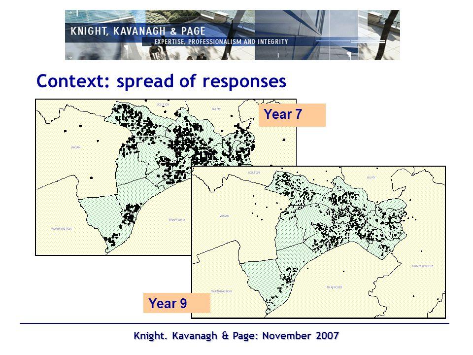Knight. Kavanagh & Page: November 2007 Context – Salford