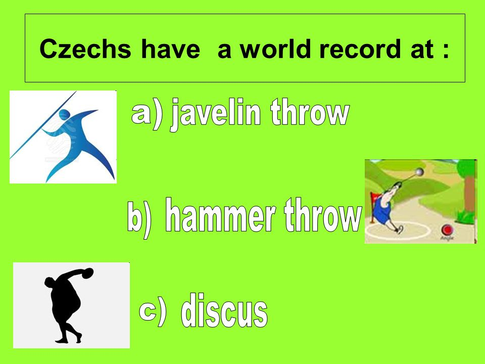 Czechs have a world record at :