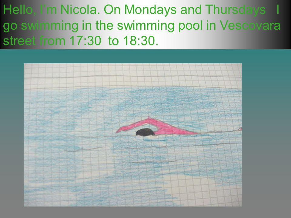 Hello, Im Nicola.