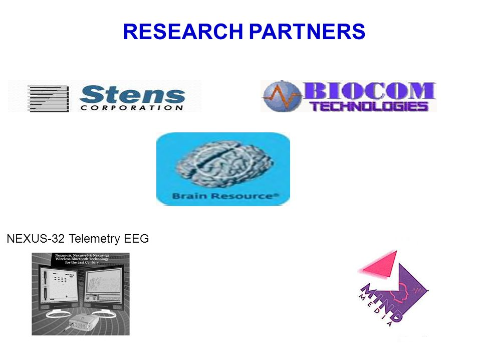 Research Support RESEARCH PARTNERS NEXUS-32 Telemetry EEG