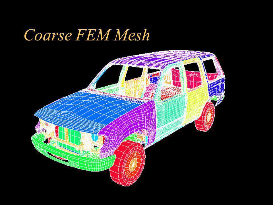 Coarse FEM Mesh