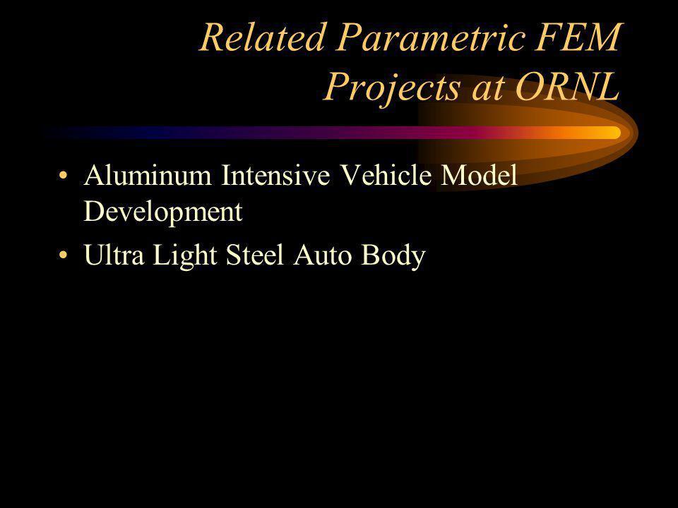 Aluminum Intensive Vehicle