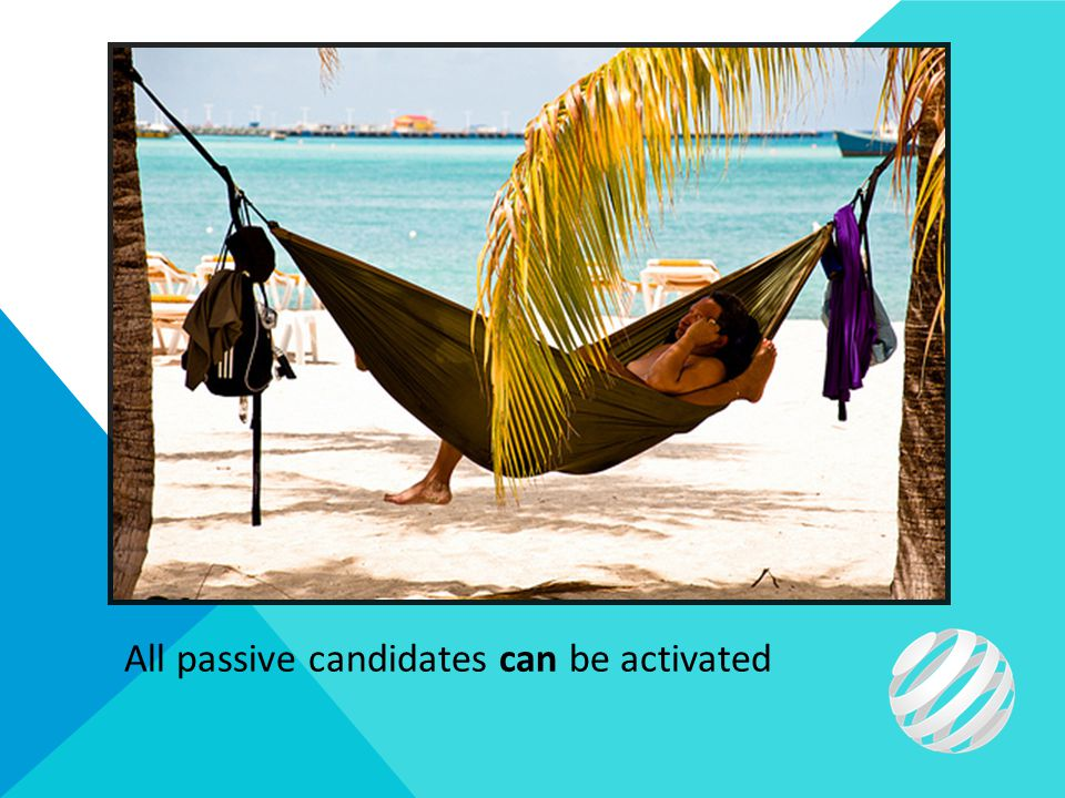 All passive candidates can be activated