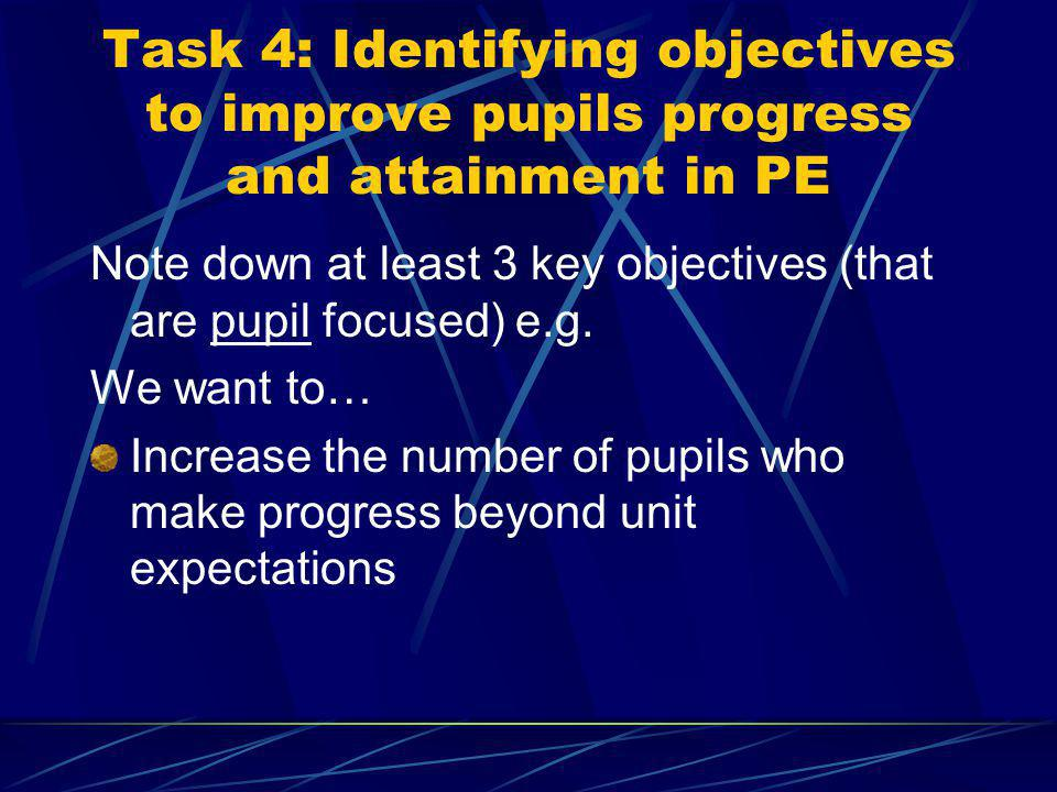 Task 3: Pre-course task In groups of 4: Share findings What issues did you uncover? Did you discover anything surprising? Are there issues common to e