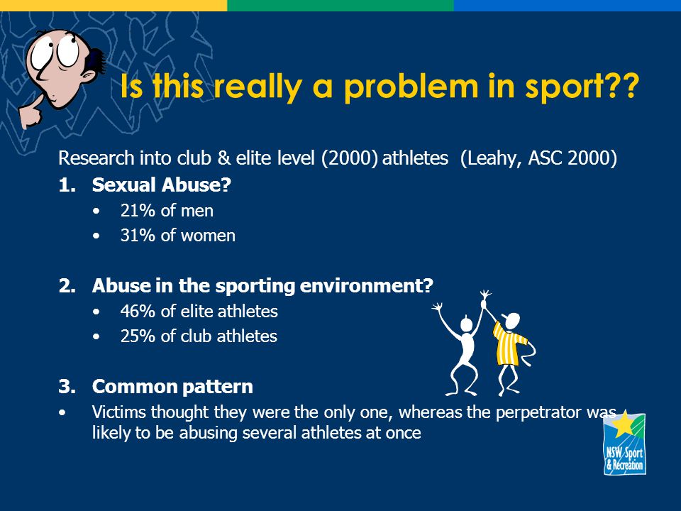 Is this really a problem in sport .