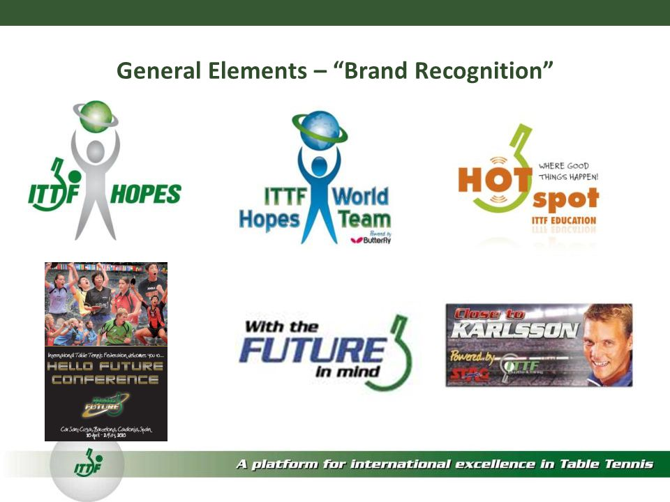 General Elements – Brand Recognition