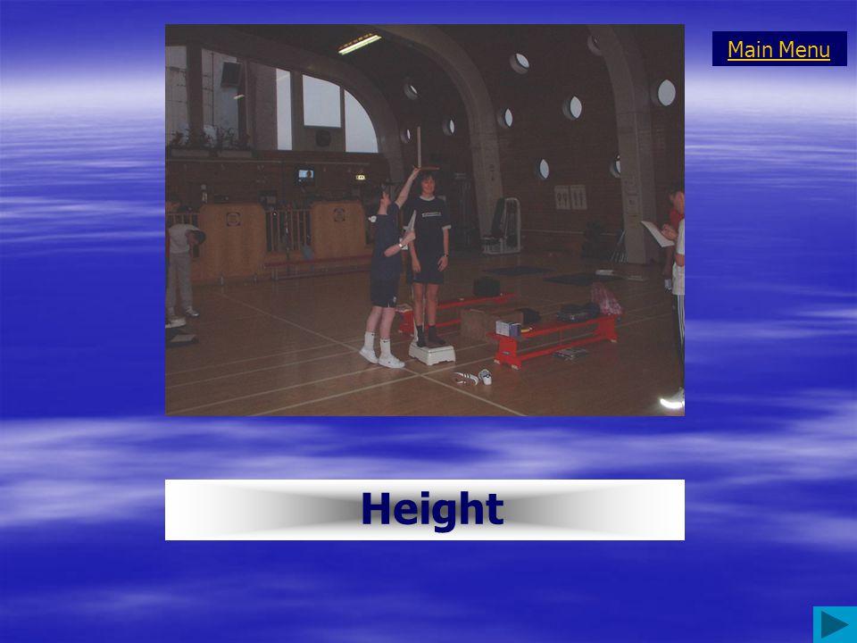Height Main Menu