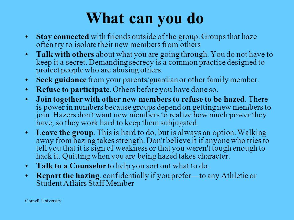 What can you do Stay connected with friends outside of the group.