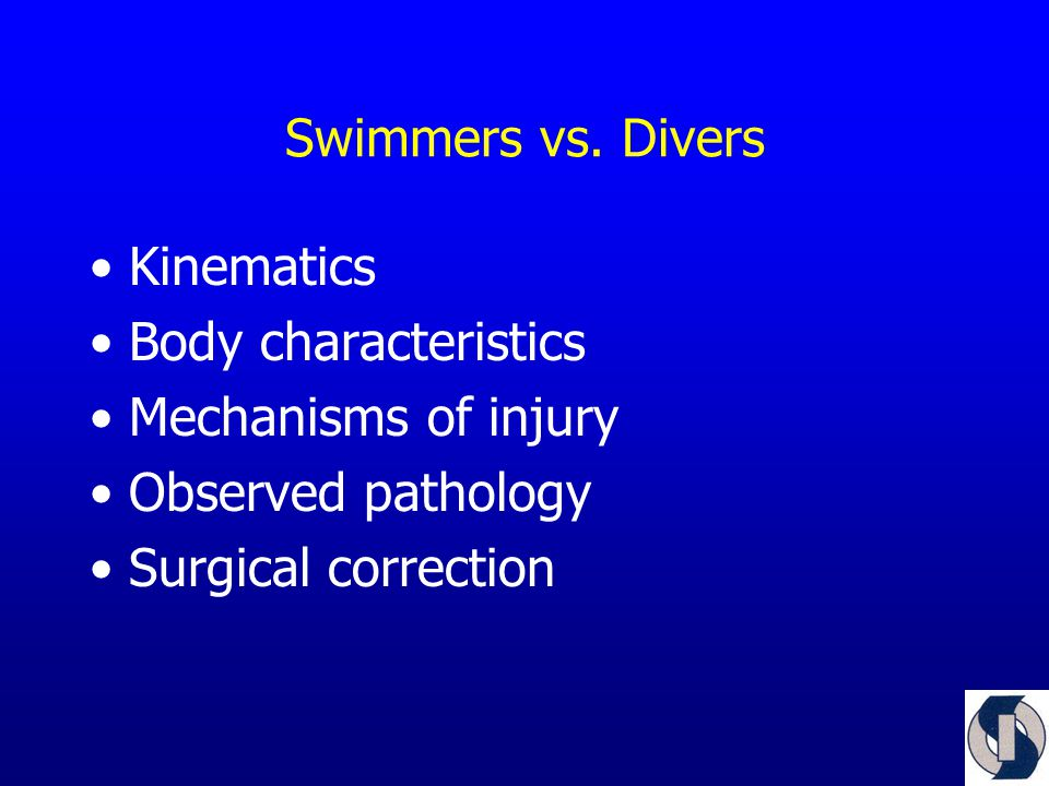 Swimmers vs.
