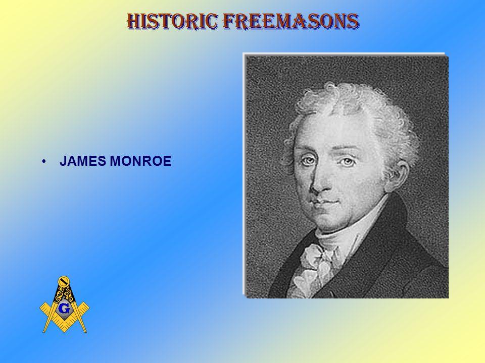 Historic Freemasons THOMAS JEFFERSON