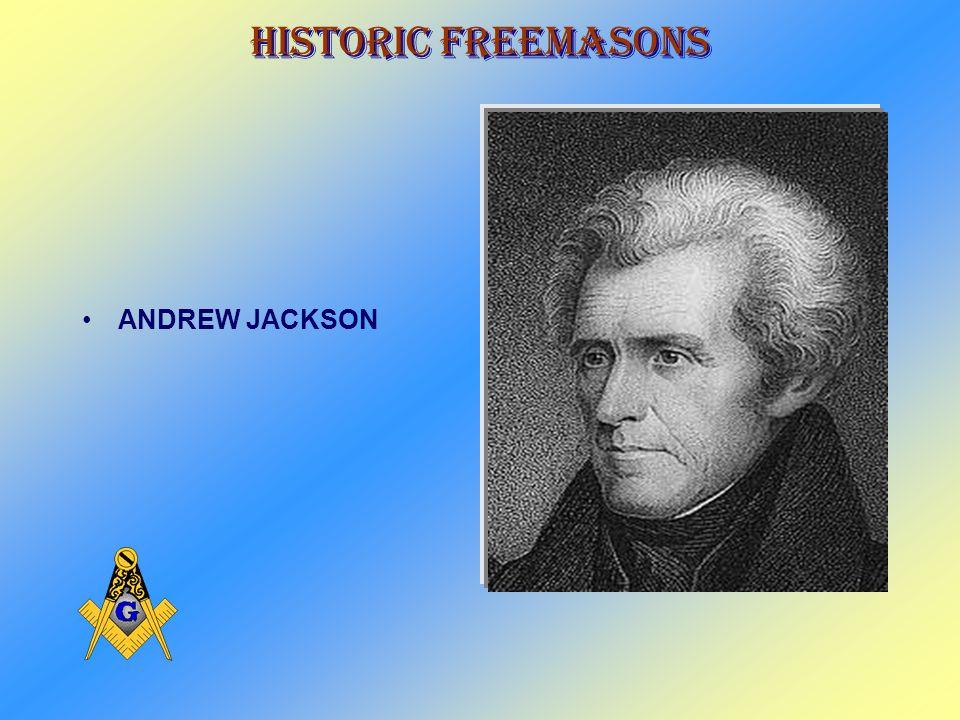 Historic Freemasons JAMES MONROE
