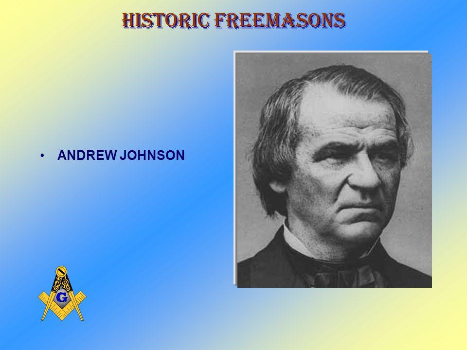 Historic Freemasons JAMES BUCHANAN