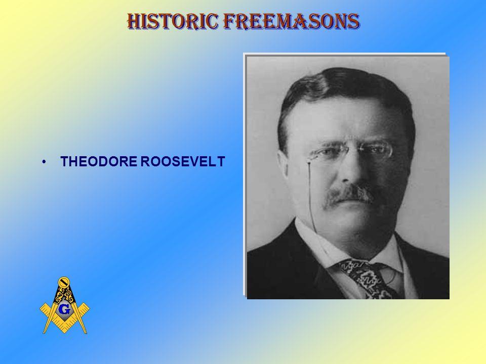 Historic Freemasons WILLIAM MCKINLEY