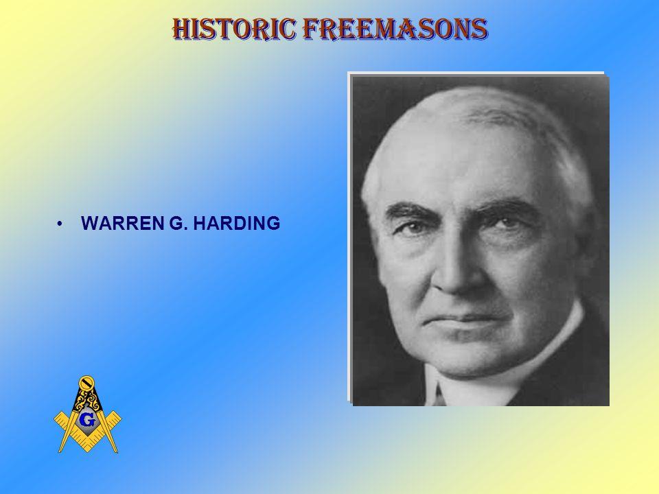 Historic Freemasons WILLIAM HOWARD TAFT