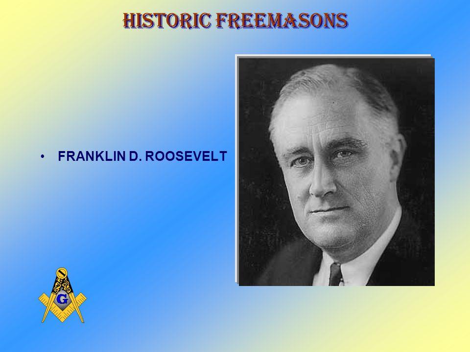 Historic Freemasons WARREN G. HARDING