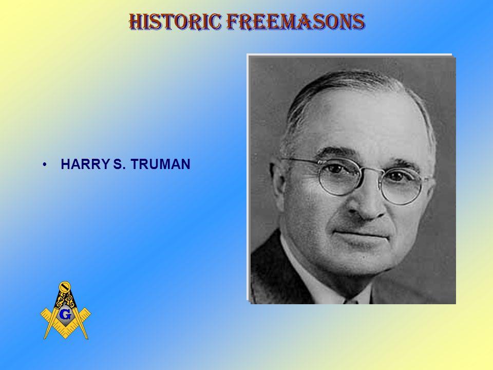 Historic Freemasons FRANKLIN D. ROOSEVELT