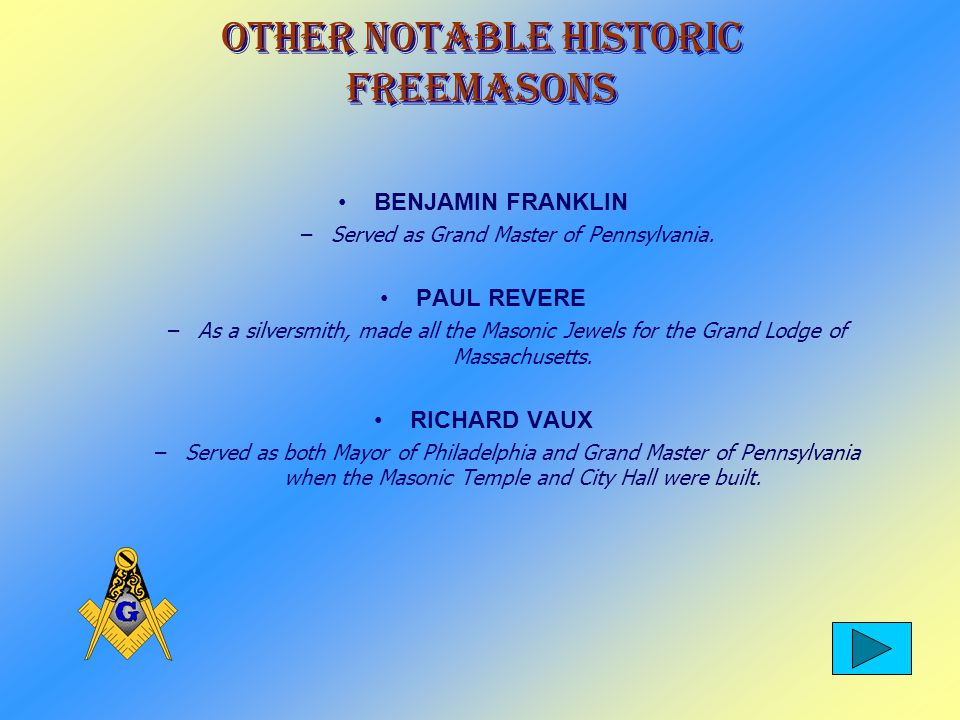 Historic Freemasons GERALD FORD