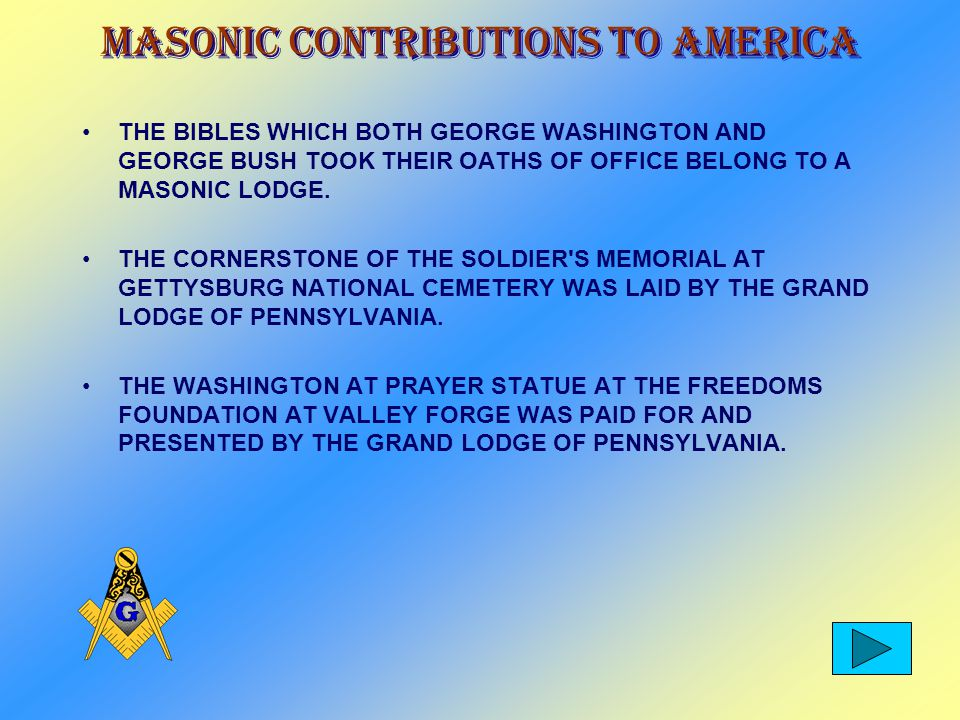 Masonic Contributions To America THE CORNERSTONE OF THE PEDESTAL OF THE STATUE OF LIBERTY WAS LAID BY THE GRAND LODGE OF NEW YORK.