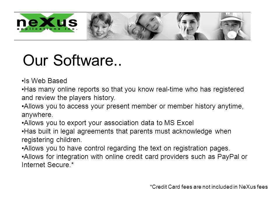 Player Registration Particulars