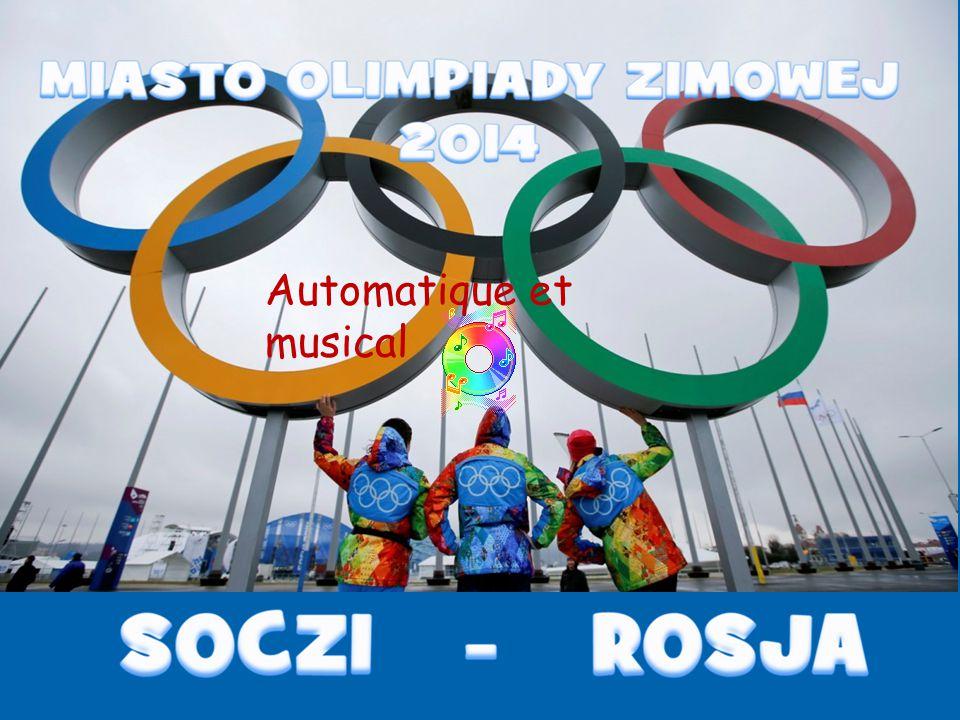 The ski jumping Russkie Gorki