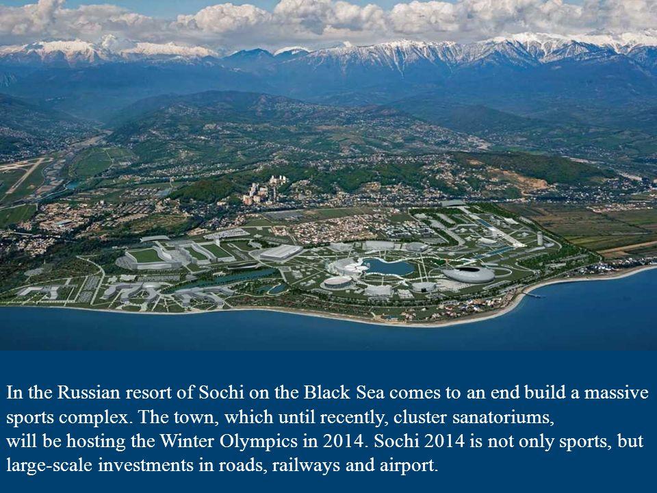 In Sochi their villas has many Russian celebrities.