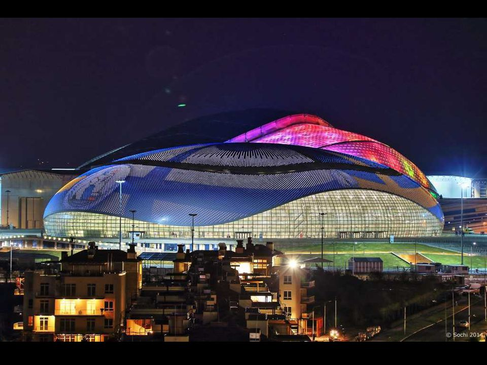 Grand Palace of Ice, Sochi 2014 The name reflects the size and importance of the building.