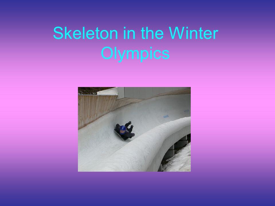 Skeleton in the Winter Olympics
