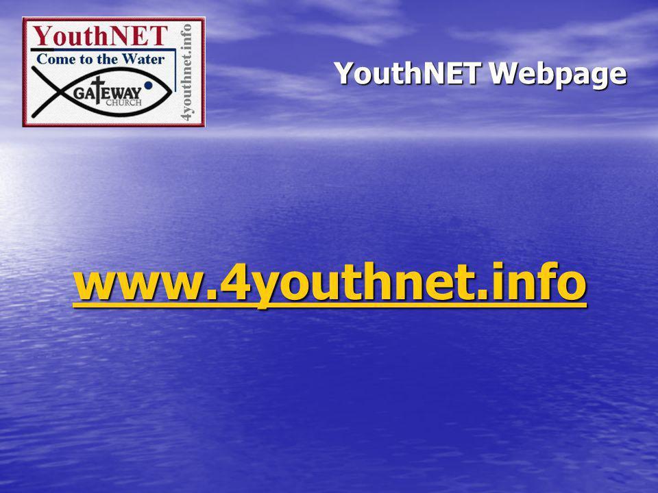 YouthNET Webpage www.4youthnet.info