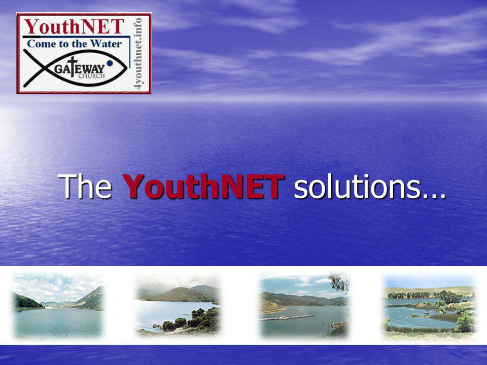The YouthNET solutions…