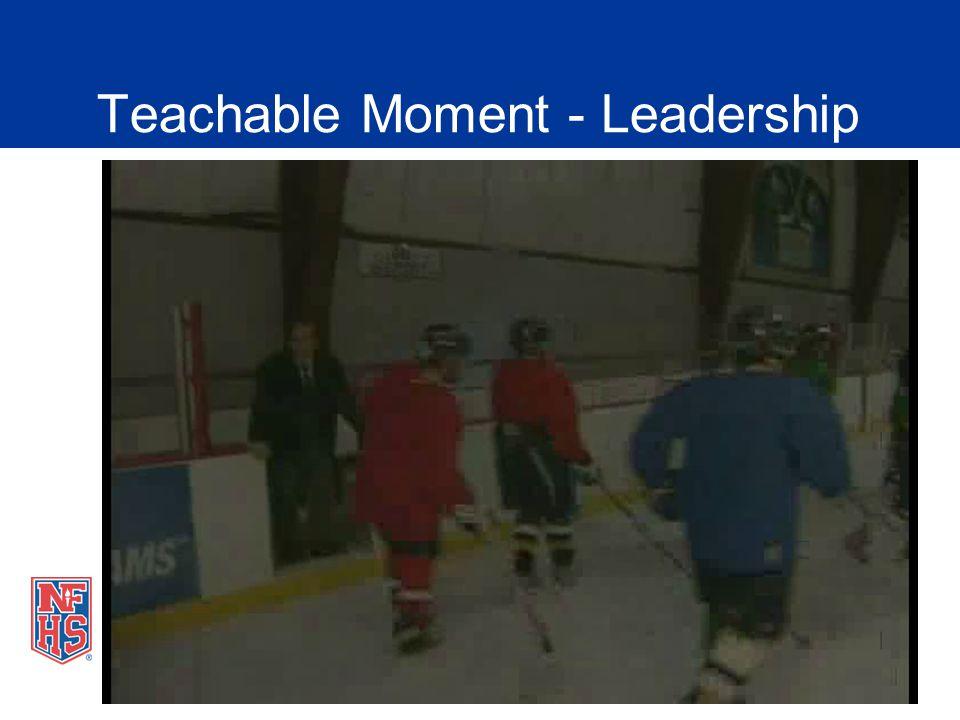 Teachable Moment - Leadership