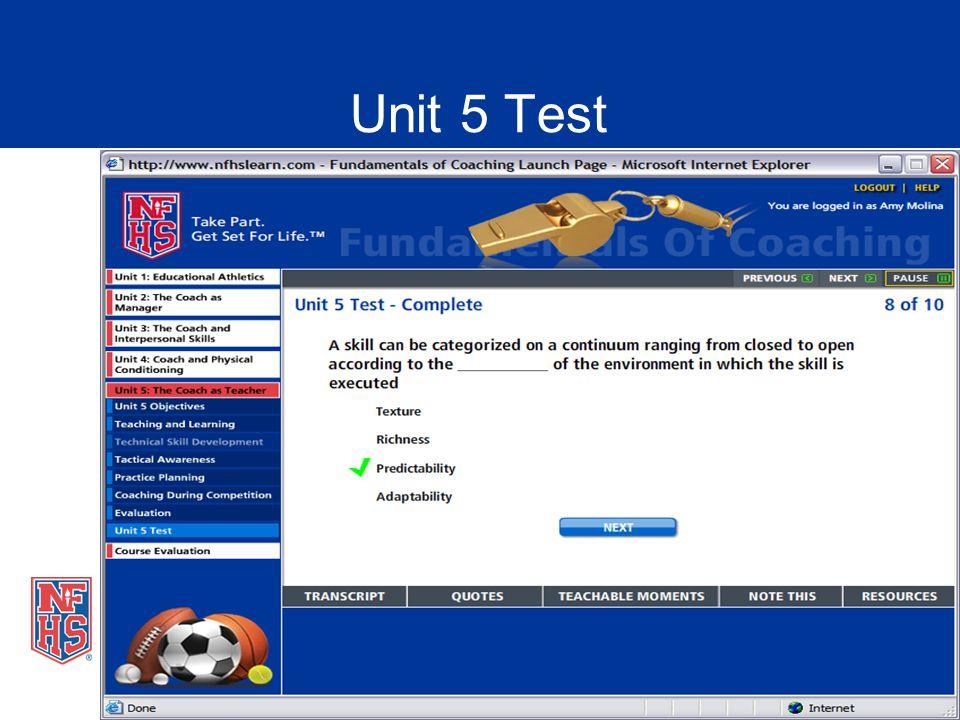 Unit 5 Test