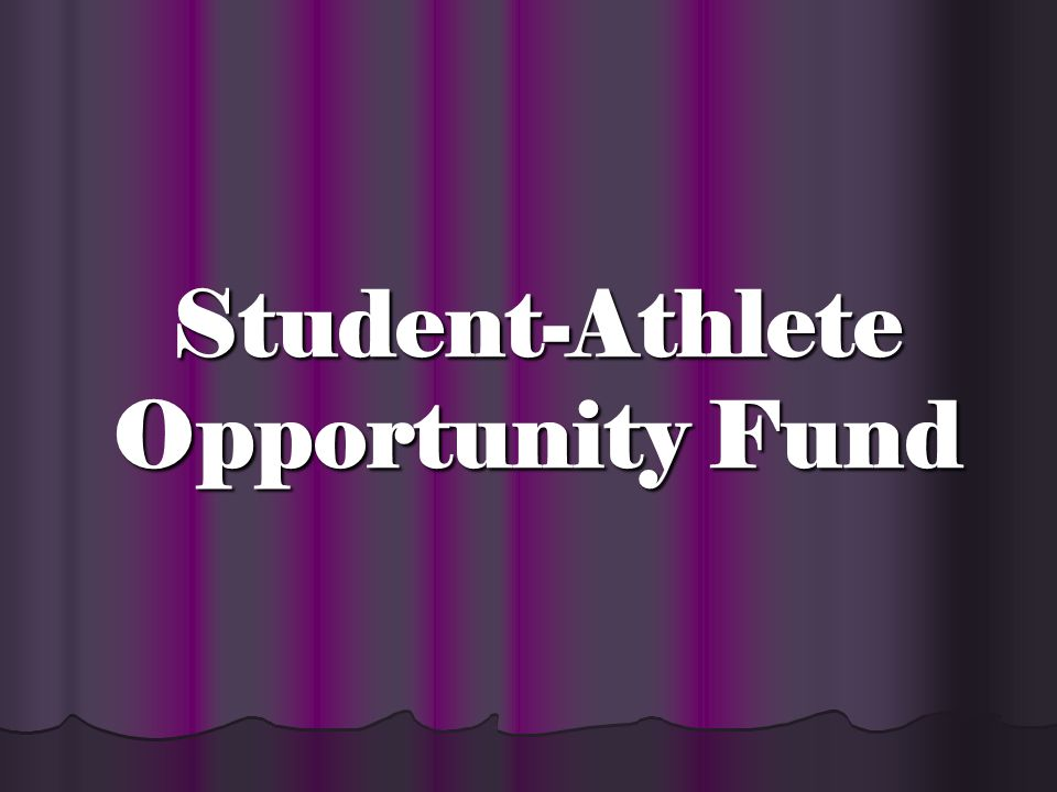 SPECIAL ASSISTANCE FUND INTERNATIONAL STUDENT- ATHLETES – You must keep on file a written verification from the official foreign student entity of the institution outside of the department of athletics certifying demonstrated financial need.