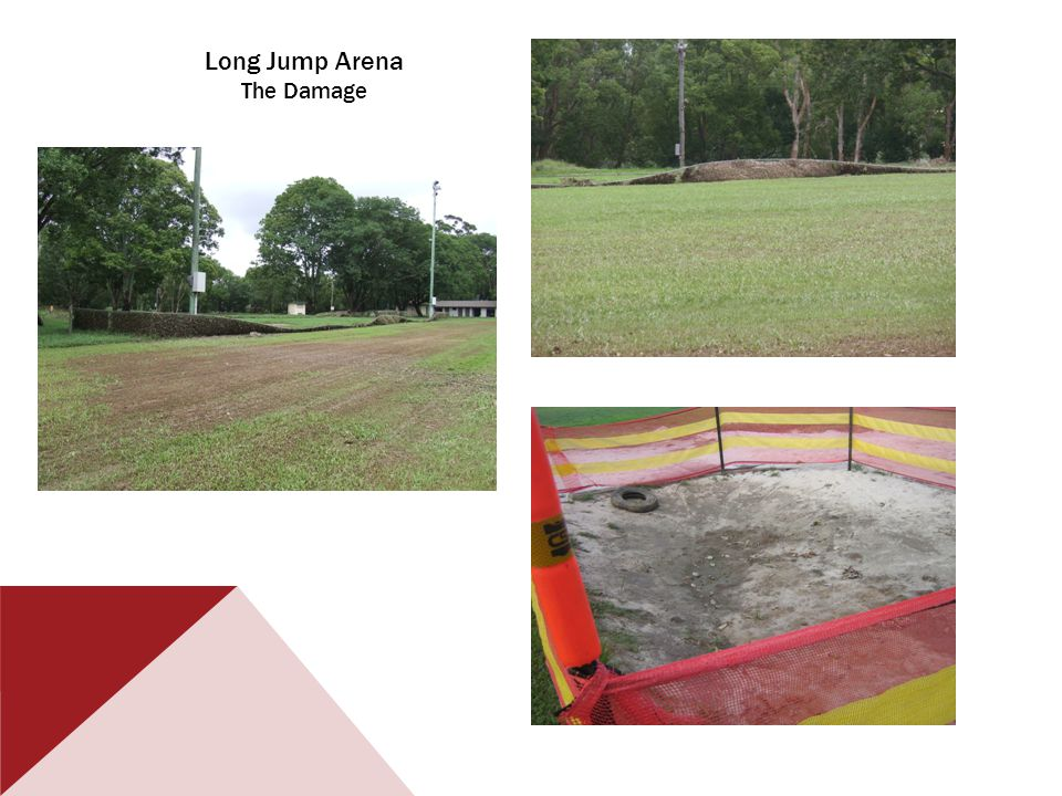 Long Jump Arena The Damage
