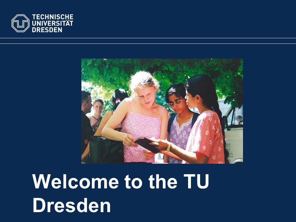 March 2010TU Dresden Doctorate/PhD Entrance to higher education pre-condition for untertaking a doctorate/ PhD: –university qualification equivalent to a German degree 3-5 years of research, no set course independent work on a complex research thesis academic support from a professor, a doctorate father studying