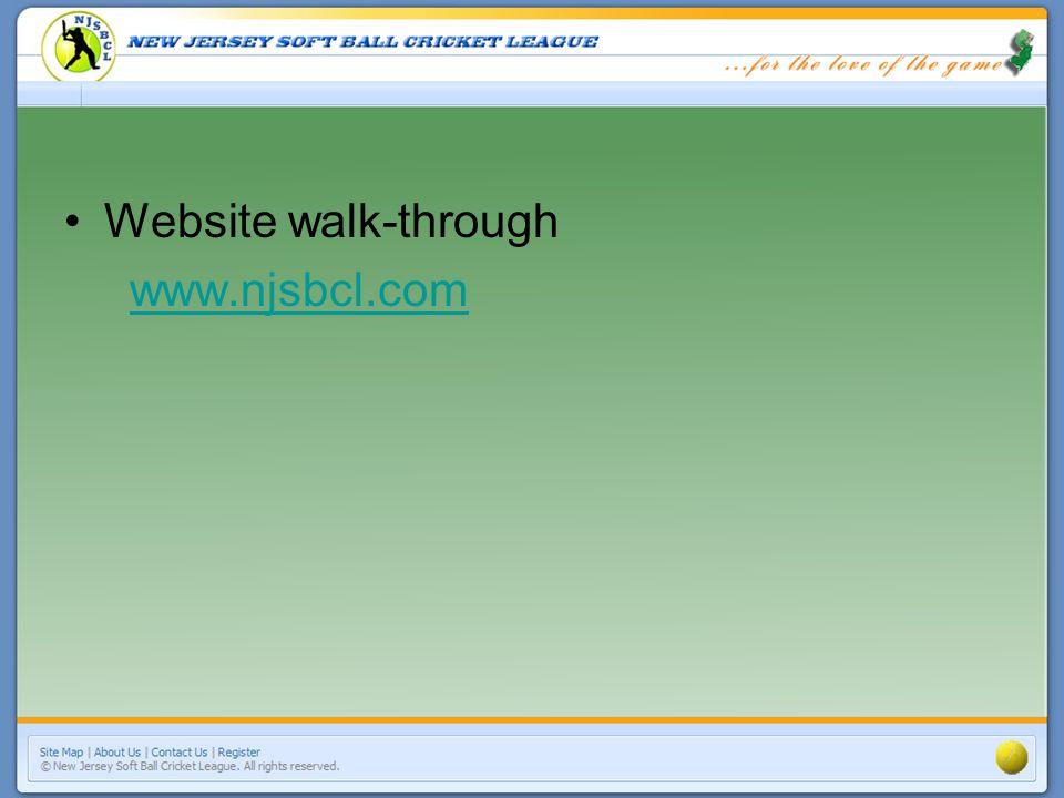 Website walk-through www.njsbcl.com