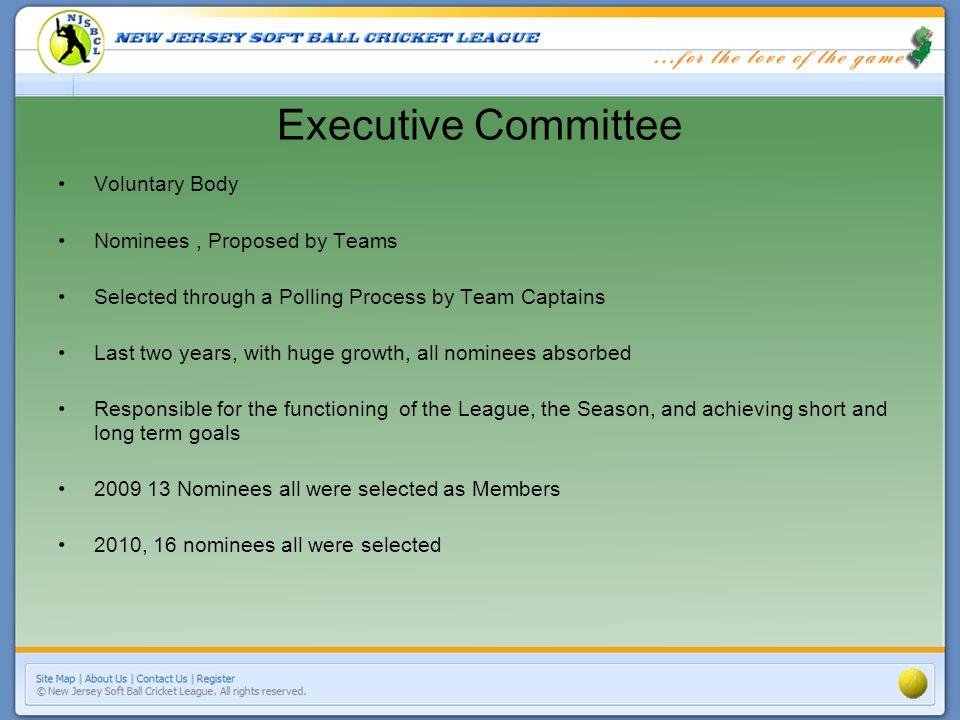 NJSBCL Executive Committee 2010 1.AVINASH GAJE 9.