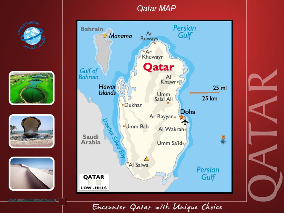 Qatar MAP www.uniquechoiceweb.com