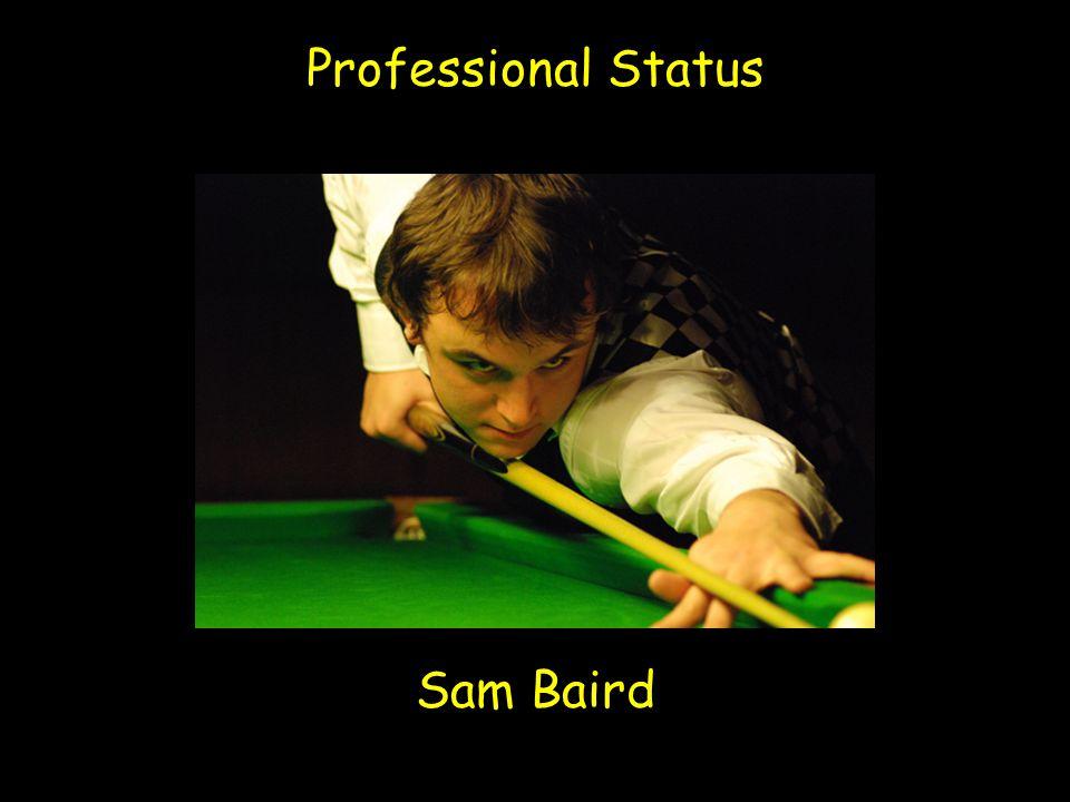 Professional Status Sam Baird