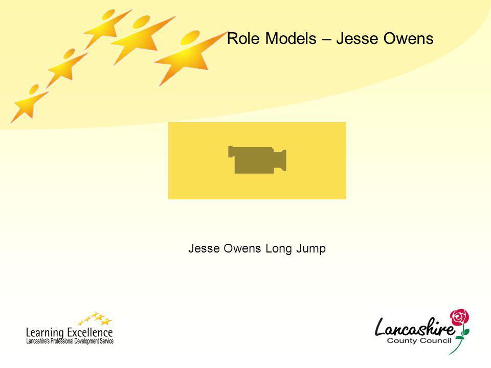 Jesse Owens Long Jump Role Models – Jesse Owens
