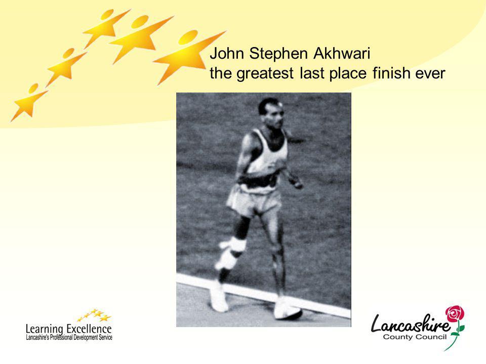 John Stephen Akhwari the greatest last place finish ever