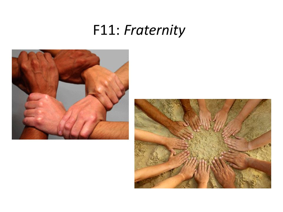F11: Fraternity